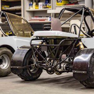 Mini Buggy – Polyester achterklep