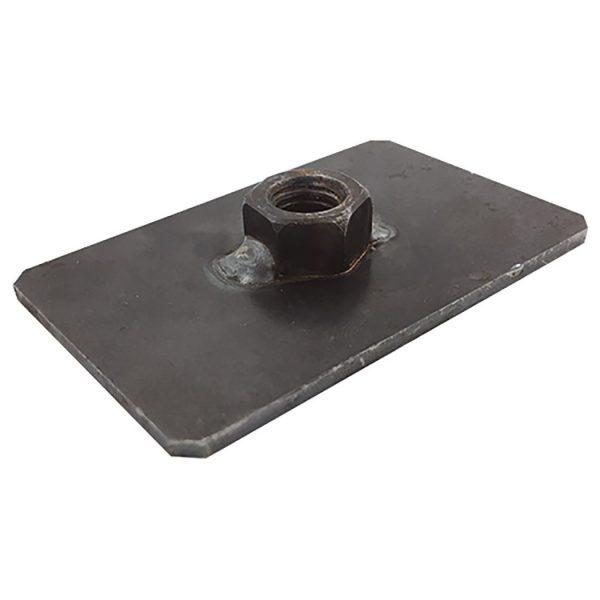 Reinforcement plate 7/16UNF – 50x80mm