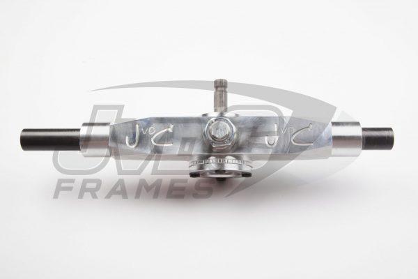 Stuurhuis JvdC – Aluminium – 22mm