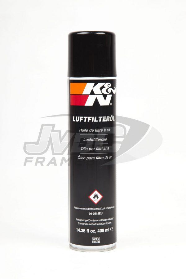 K&N Luchtfilterolie 400mL