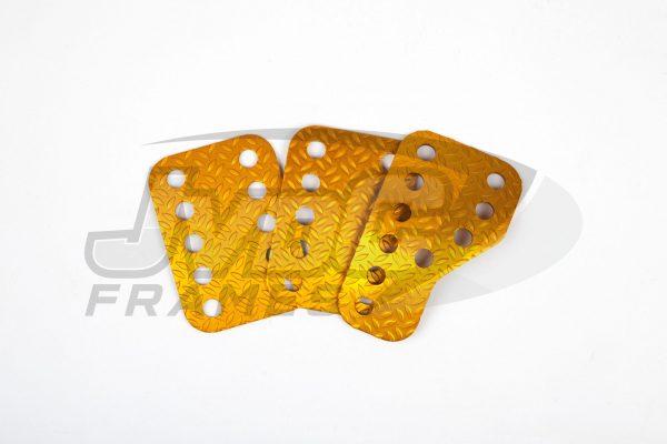 Sandtler pedalenset – Aluminium