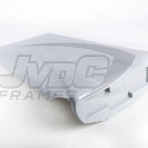 Polyester dak – Model 2 – Vierkante LEDs