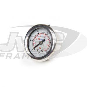 Sytec Brandstofdrukmeter 1-7bar – Mechanisch