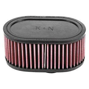 Luchtfilter met flens – Offset 52mm – Ovaal