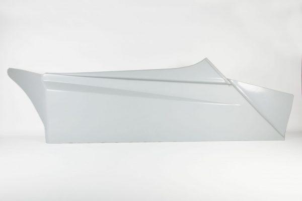 Polyester zijkant recht – Model 2 – Rechts