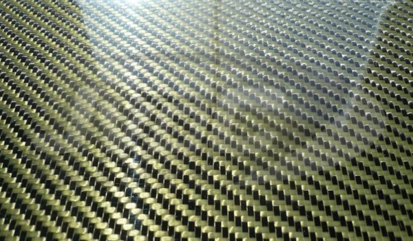 Carbon/Kevlar plaat