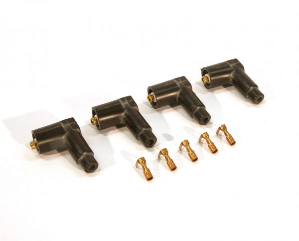 Spark lead connector set (4x) coil side