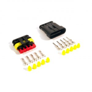 Superseal connector set 6-pin (pins & seals included)