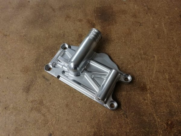 Waterpomp deksel / dynamosteun – Honda