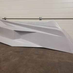 Polyester zijkant – Model 3 – Rechts