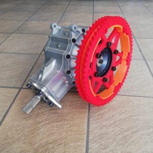 Aandrijving 4WD – Ketting/Cardan – DMA