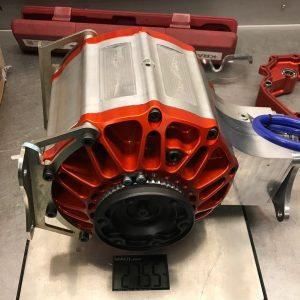 Zijkdeksel kit met Preload setup – Peugeot