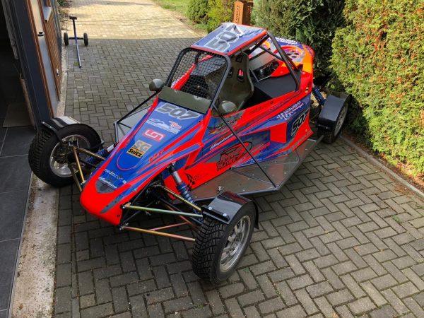 JvdC 4WD Frame – Buggy 1600